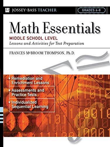 (Math Essentials, Middle School Level: Lessons and Activities for Test Preparation)