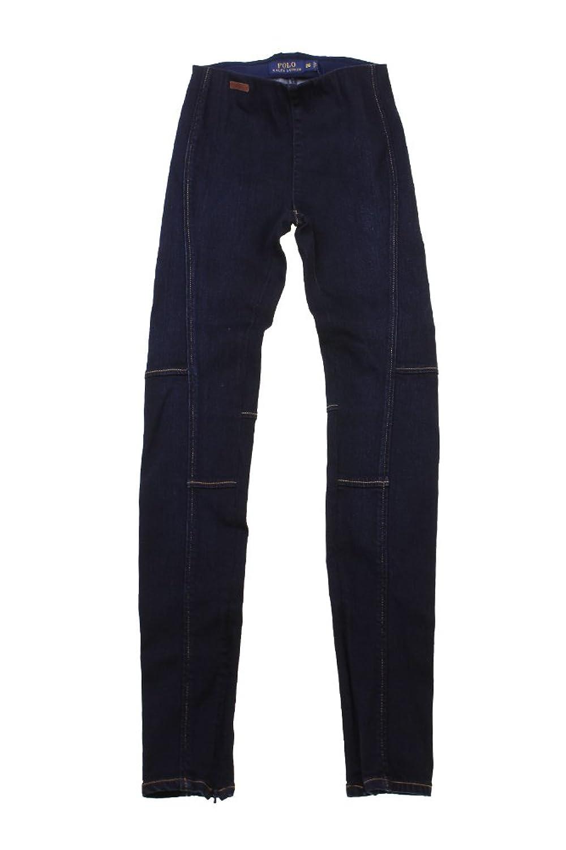 Polo Ralph Lauren Women's Pull-On Denim Leggings Jeans 26 Navy