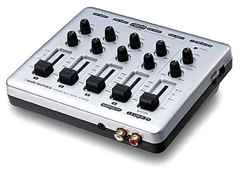 Audio Technica AT-PMX5P | Portable Multi Mixer (Japanese (Audio Technica Mixer)
