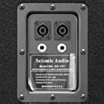 "Seismic Audio - Pair of 15"" PA DJ Speakers 700 Watts PRO Audio - Mains, Monitors, Bands, Karaoke, Churches, Weddings by Seismic Audio Speakers, Inc."