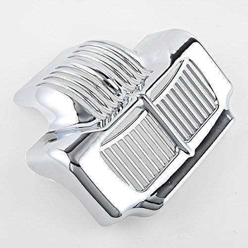 Motorcycle Chrome Oil Cooler Cover For Harley Road King Street Glide 2011 2012 2013 2014 2015 2016