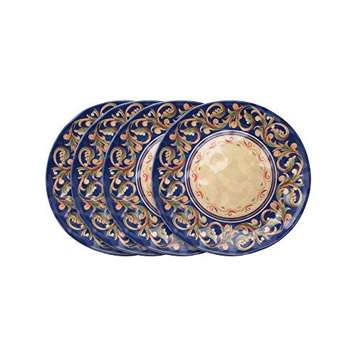 Pfaltzgraff Villa Della Luna Melamine Outdoor Salad Plates, Set of ()