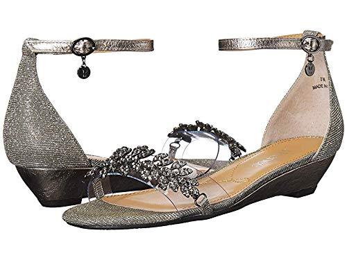 Pewter Glitter Footwear - J. Renee Women's Eviana Pewter Glitter 8.5 W US