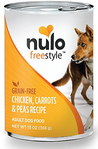 Nulo Adult Grain Free Canned Wet Dog Food (Chicken Recipe, 13 Oz, Case Of 12)