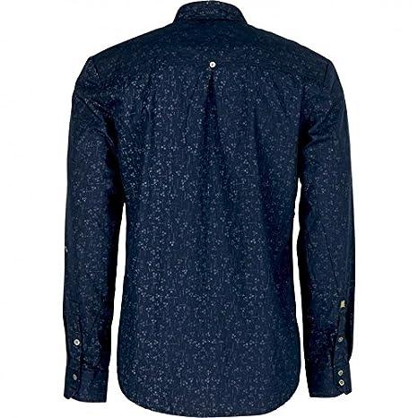 Amazon.com: No Excess - CAMISA NO EXCESS MANGA LARGA ESTAMPADA - NAVY, XL: Clothing