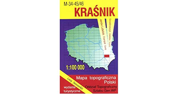 Krasnik Region Map Unknown 9788371351693 Amazon Com Books