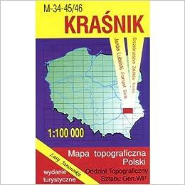 Krasnik Region Map Unknown 9788371351693 Amazon Com Books