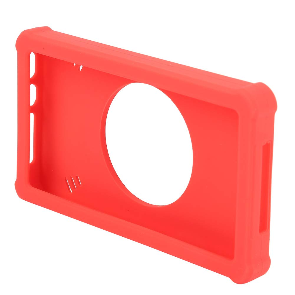Akozon Analyzer Silicone Protective Case with Ring Stand Red Accessories for Mini LA104 Digital Logical Analyzer