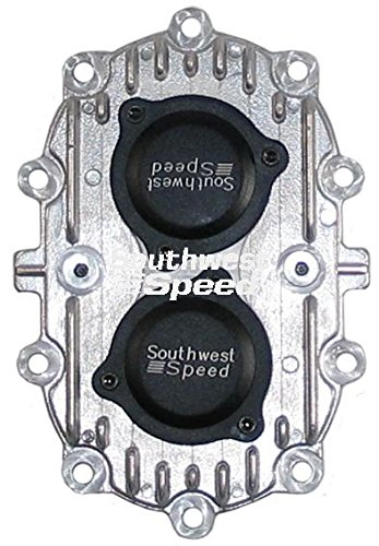 NEW SOUTHWEST SPEED RACING GEAR COVER WITH BEARINGS FOR QUICKCHANGE REAR ENDS, FITS 5063, K5063, 5270, K5270 CLOSED TUBE LATE MODEL, MODIFIED, STOCK CAR, K837S, K937S PRO ELIMINATOR, K637S SPRINT CAR, AND P637S SUPER MODIFIED QUICK CHANGE REARS (Change End Rear Quick)
