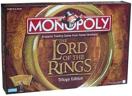 Monopoly - The Lord of the Rings Trilogy Edition: Amazon.es: Juguetes y juegos