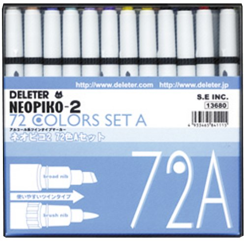 Neopiko-2 72 Colors Set A by Deleter