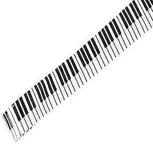 Goodvk Corbata de Hombre Piano Imprimir Tie Casual 5 Cm Estrecho ...