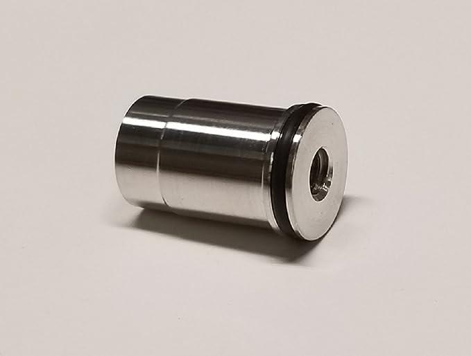 Oil Bypass Delete Aluminum Alloy Billet Oil Bypass Delete Oil Diverter Barbell Fits for G M LS Engines