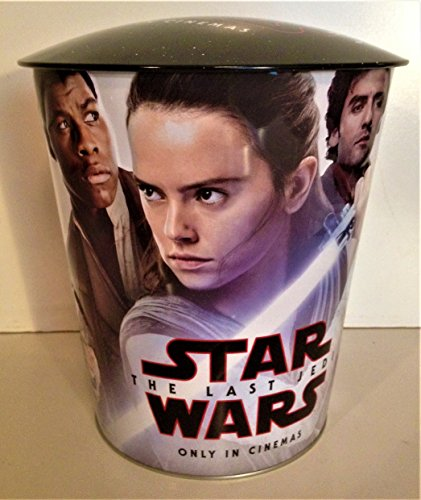Star Wars: The Last Jedi Movie Theater Exclusive 130 oz Metal Popcorn Tin #3 - Exclusive Tin