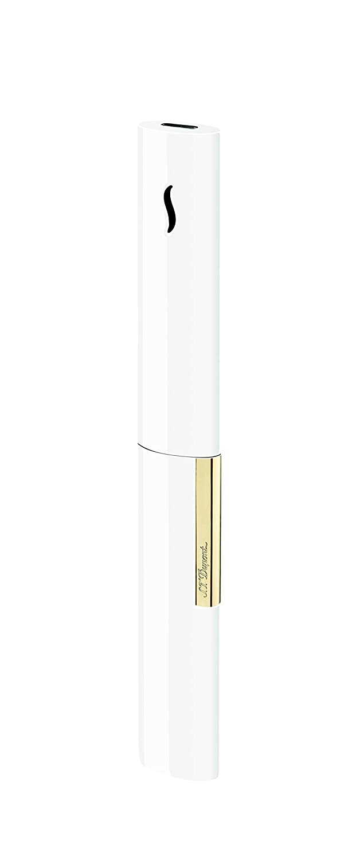 S.T.DUPONT(エステーデュポン) ザウァン ホワイト&ゴールデン 024006 ホワイト&クローム   B07HWN3Z6F