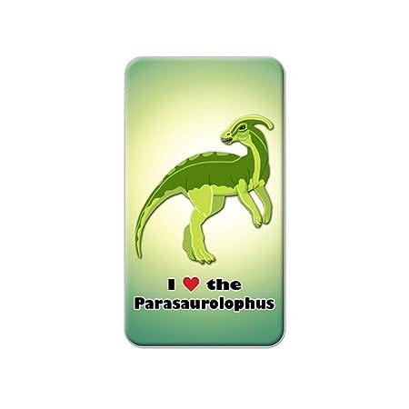 Me encanta corazón Parasaurolophus - dinosaurio Metal camiseta de ...
