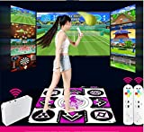 QXMEI Wireless TV Interface Computer Dual-use Single Dance Carpet Body Game Console 9183CM