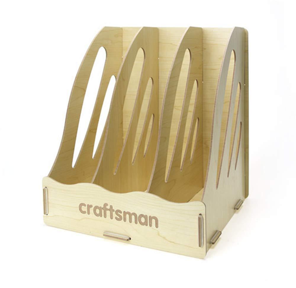 Grünikaler Speicher A4-Aktenschrank Ultra-Modern Simple Style Files Füllen Rack Box Holz Desktop-Speicherkasten Kann Graffiti selbst B07P2G1Y7P | Förderung