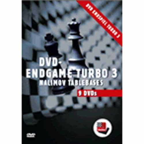 Endgame Turbo 3 - Nalimov Tablebases on 9 DVDs