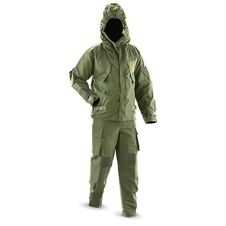 NBC traje en verde oscuro (nuevo) 170/100 con capucha para una ...