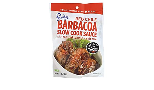 Amazon.com: Frontera Foods Red Chile Barbacoa Slow Cook Sauce - Red Chile - Case of 6 - 8 oz.: Health & Personal Care