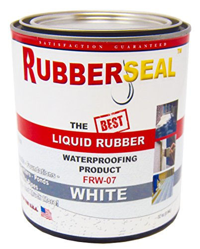 bber Waterproofing and Protective Coating - Roll On WHITE 16 ounces (16 ounces) ()
