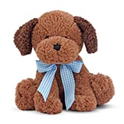 Melissa & Doug Meadow Medley Chocolate Puppy - Stuffed Animal Dog With Barking Sound Effect