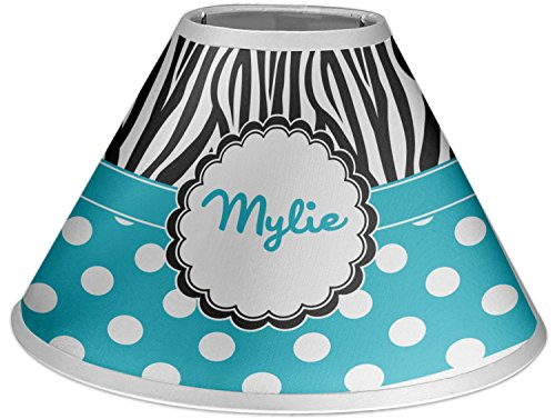 RNK Shops Dots & Zebra Coolie Lamp Shade (Personalized) by RNK Shops
