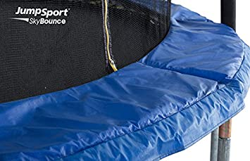 JumpSport SkyBounce Trampoline with Safety Enclosure Includes Spring Pad 10 , 12 , 14