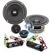 HD-320 - CDT Audio 3 100W RMS 2-Way 3-5-X Series Component Speakers System
