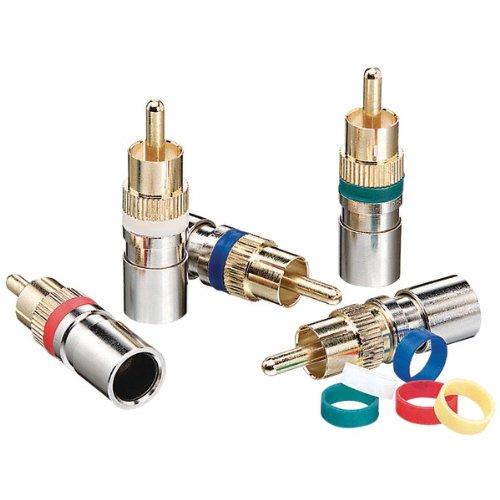 IDEAL 89-570 RG59 RCA Compression Connectors, 35 pk
