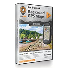 New Brunswick Backroad GPS Maps