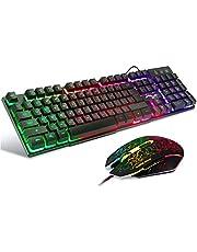 BAKTH Gaming Tastatur und Maus Set