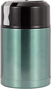 URBEST Thermoses, 1L Large Food Jar Double-layer Stainless Steel Vacuum Insulated Leak-proof with Portable Lid (1L, Blue)