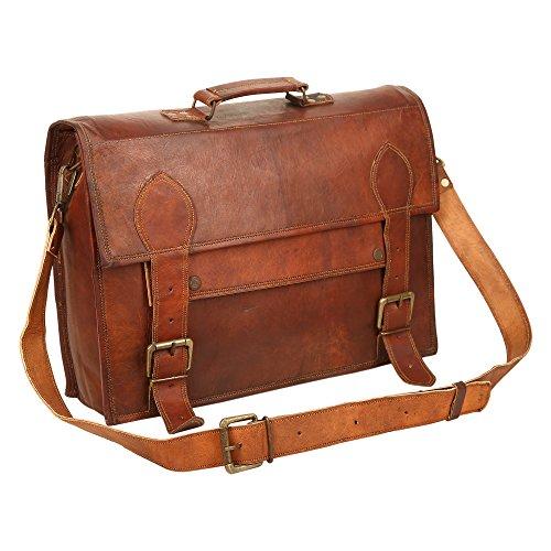 Ayemann Crafts  Artico bag11, Borsa Messenger  Marrone Brown