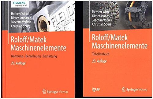 Roloff/Matek Maschinenelemente: Normung, Berechnung, Gestaltung 2 Bde. Gebundenes Buch – 13. September 2017 Herbert Wittel Dieter Jannasch Joachim Voßiek Christian Spura