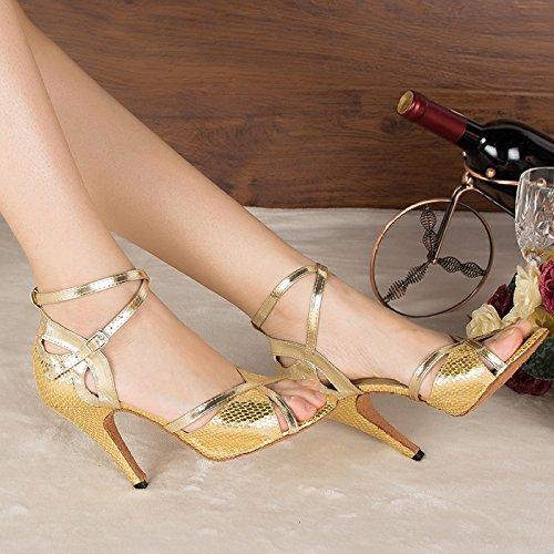 Latino De Tango Zapatos T Mujer Salsa para Baile qSHYxHE