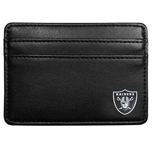 (Siskiyou NFL Oakland Raiders Weekend Wallet, Black)