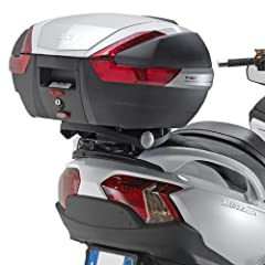 GIVI SR3104 Monokey Topcase Mounting Kit Works with any Givi Monokey Topcase DLM30, DLM46, TRK33, TRK46, TRK52, E360, E460, E52, E55, V46, V47, V56, OBK42, OBK58, V40