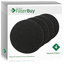 4 - Eureka DCF-26 (DCF26) Filters, Part # 68465a & 68465. Designed by FilterBuy to fit Eureka AirSpeed Upright Vacuum Cleaners.