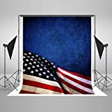 Maijoeyy 5ftx7ft Independence Day Photography Background Backdrops 4 July Blue Wall Customized Photo Studio Props 188328347