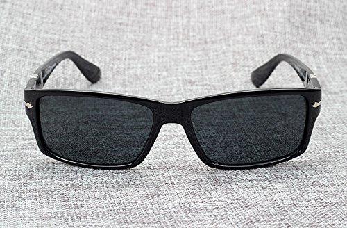 Aprigy Soleil Conduite Mission Lunettes noir James nbsp;Tom de Cruise Impossible4 Lunettes Mode Soleil Polarisées Bond de brillant Homme qZwZtr