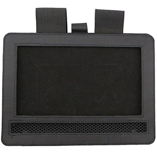 Car DVD Player Holder, Portable RevoLity 7-10.5 Inch Car DVD Headrest Mount Holder Strap Case Color Black (10-10.5 Inch) by RevoLity (Image #2)