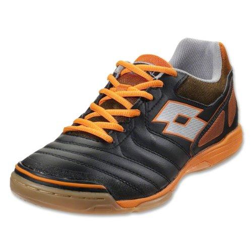 Lotto Futsal Liga V Id - Svart / Halloween Orange