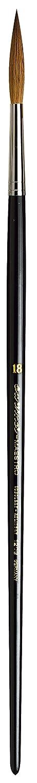 Size 0 da Vinci Oil /& Acrylic Series 1805 Maestro Oil Paint Brush Filbert Kolinsky Red Sable