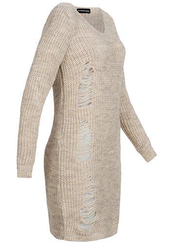 violet Fashion - Torera - para mujer Beige