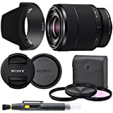 Sony 28-70mm F3.5-5.6 FE OSS Interchangeable Standard Zoom Lens with Pro Starter Kit, Includes: Filter Kit, Front Lens Cap, Rear Lens Cap, Lens Hood and Lens Pen - International Version