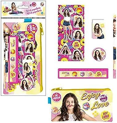 ALMACENESADAN 2379; Pack Escolar Disney Soy Luna; 6 Piezas ...