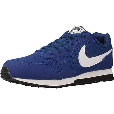 separation shoes 28aec 40b82 Nike Herren MD Runner 2 (GS) Sneakers, Blau (Gym BlueWhite