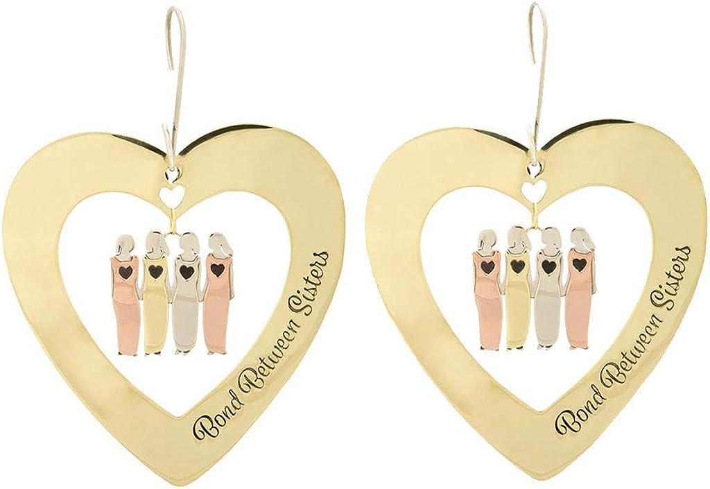 aihihe Valentines Day Earrings for Girls Women Heart Earrings Gold Plated Earrings Hypoallergenic Ear Stud